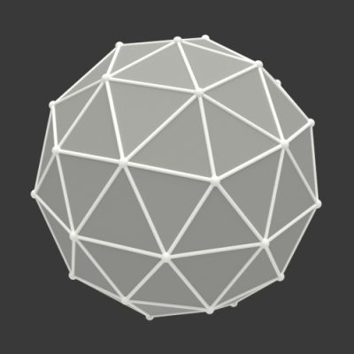 Icosphere-3d-model-version-2