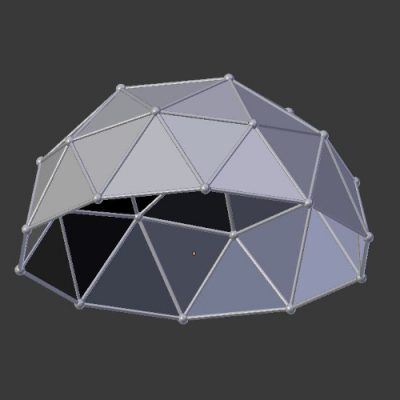 Icosphere-3d-model-Version-2-dome