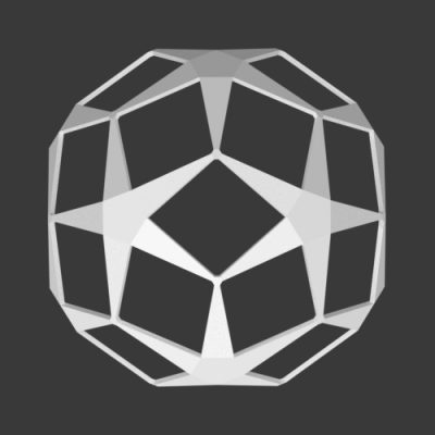 Dodecahedron-star-ball-3d