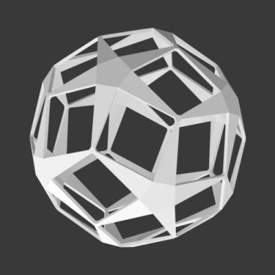 Dodecahedron-star-ball-decor