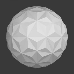 Icosphere triangles