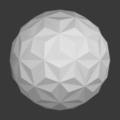 Icosphere-triangles-ball