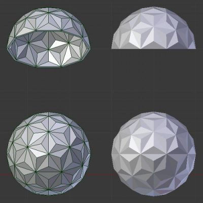 Icosphere-triangles-all-model
